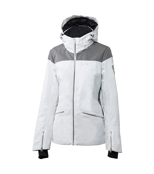 Bunda dámská PHENIX Virgin Snow Jacket ES7820T64 bílo-šedá model 2018