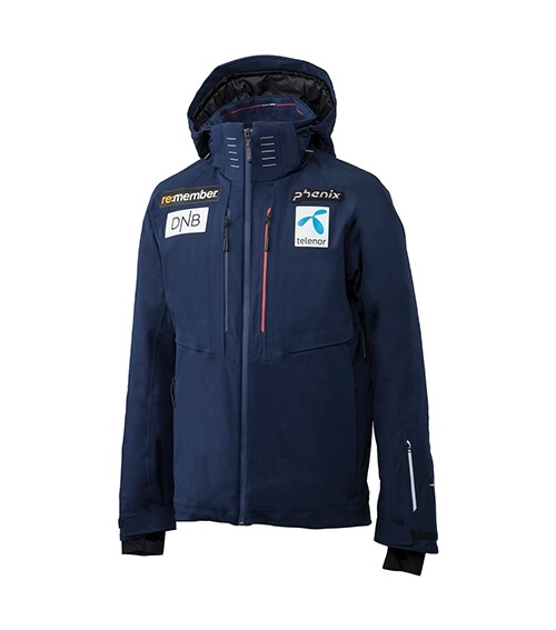 Bunda pán. PHENIX Norway Alpine Ski Team Replica Jacket ES7720T10 tmavě modrá model 2018
