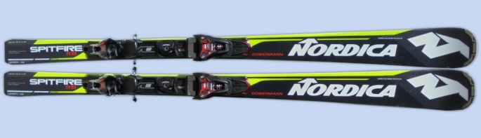 lyže Nordica DOBERMANN SPITFIRE RB EVO s vázáním N Power X-CELL model 2018
