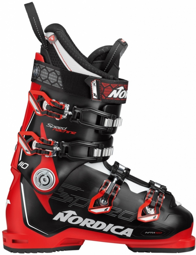 boty Nordica Speedmachine 110 black/red/white model 2020